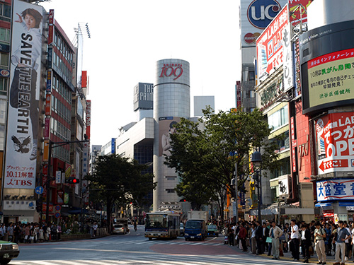 渋谷の爆乳ちゃんでバッタリ!
