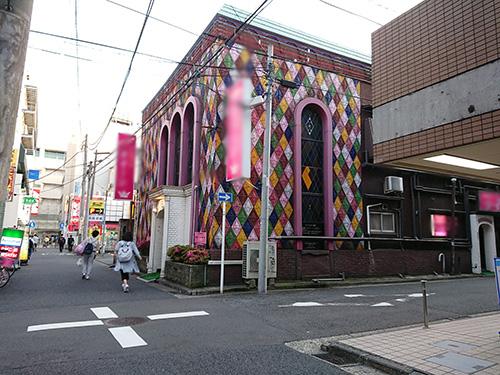 横浜某所の街角に「いきなり!」って感じで現れる いきなり!フーゾク